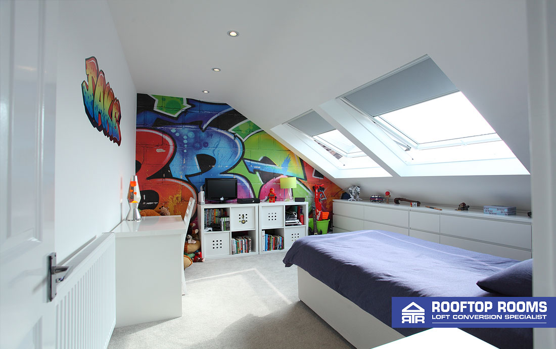 Detached loft conversion - bedroom 2