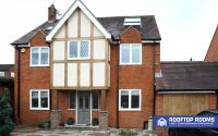 Detached house loft conversion