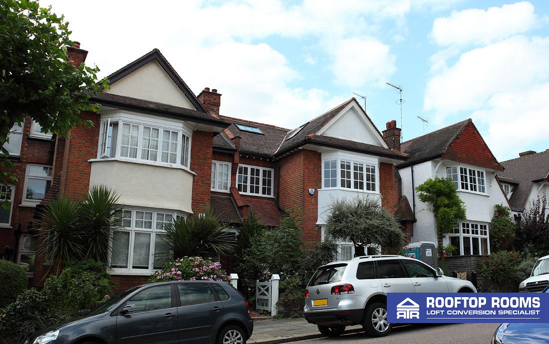 Loft conversion in a conservation area