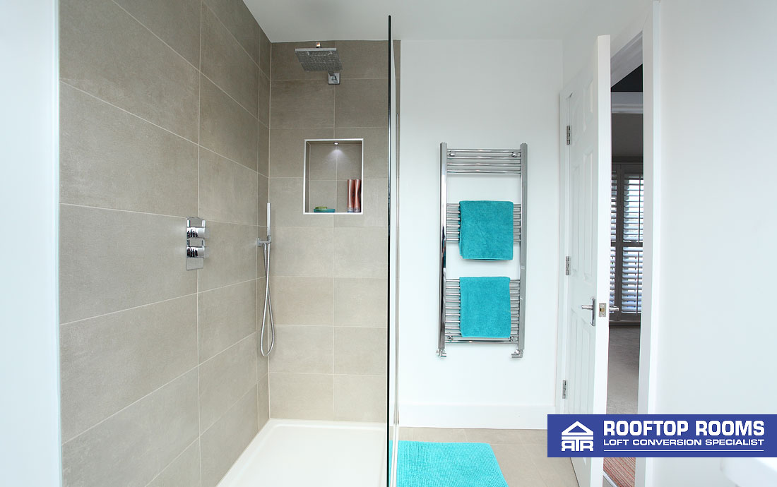 Detached loft conversion - Shower Room