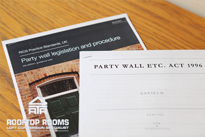 The Party Wall Act for loft conversions