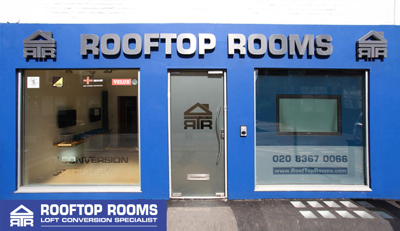 Rooftop Rooms office in Enfield